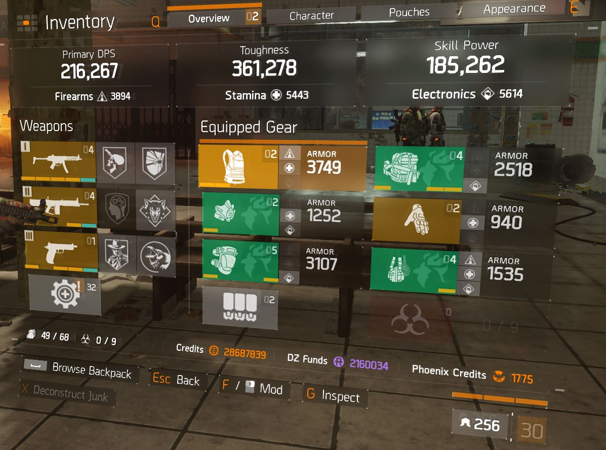The Division   Best Medic Build