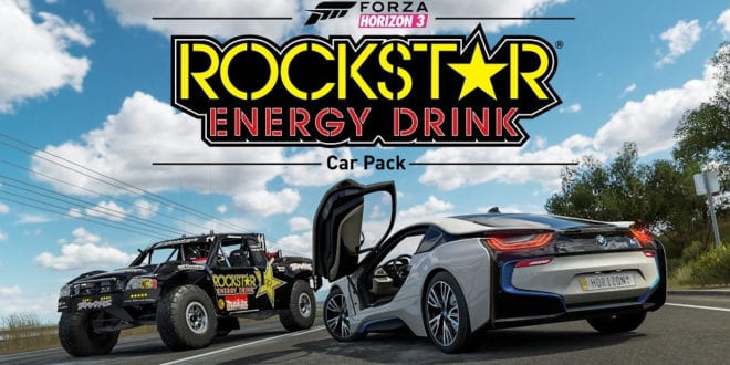 Forza Horizon 3 Rockstar Car Pack
