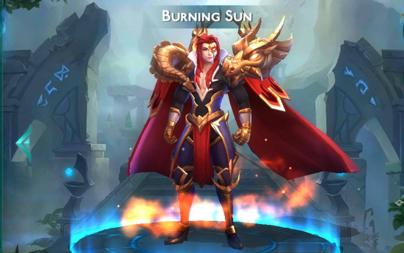burning sun build guide