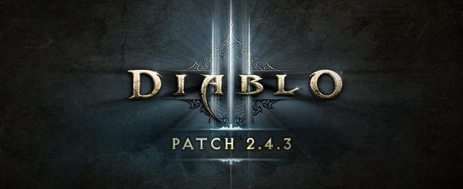 diablo 3 patch 2.4.3 is live