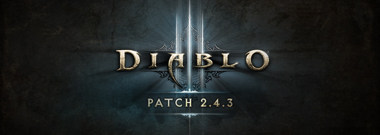 Photo of Diablo 3 Patch 2.4.3 is Live for PC, PS4 and Xbox One