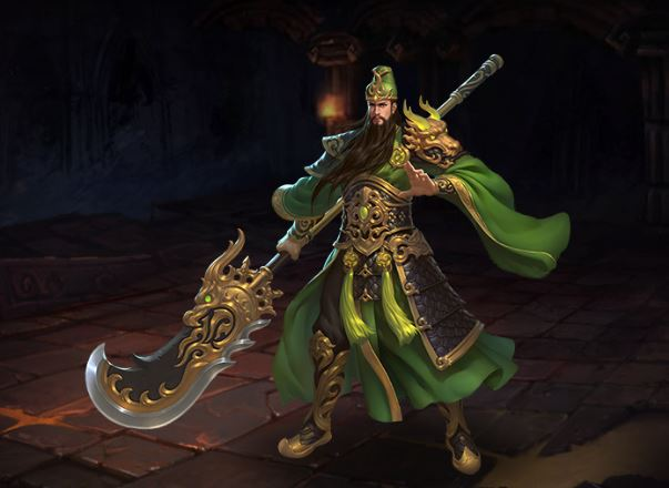 Guan Yu Skills and build guide