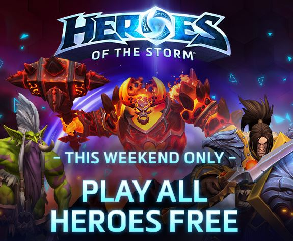 Heroes of the Storm: All the Heroes will be Available Over The Next Weekend