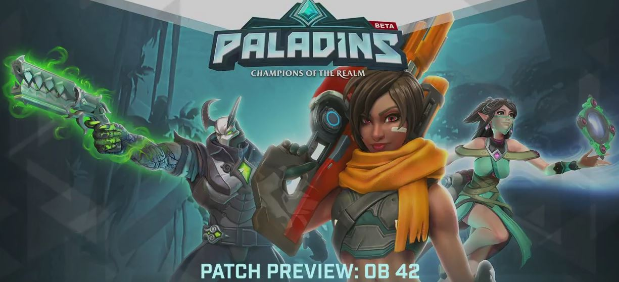 Photo of Paladins OB42 Patch Preview: New Champion Is About to Come