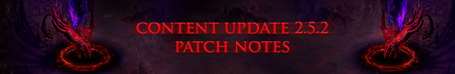 path of exile patch 2 5 2