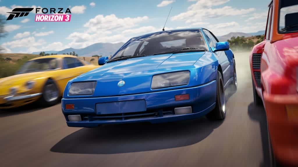 Forza Horizon 3 Renault Alpine GTA Le Mans