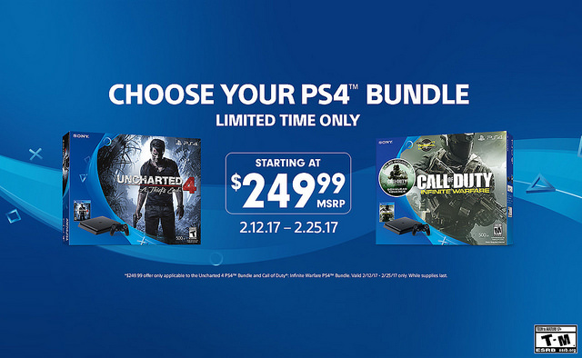 february ps4 bundles