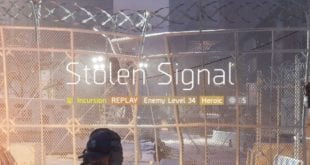 Stolen Signal Incursion Guide
