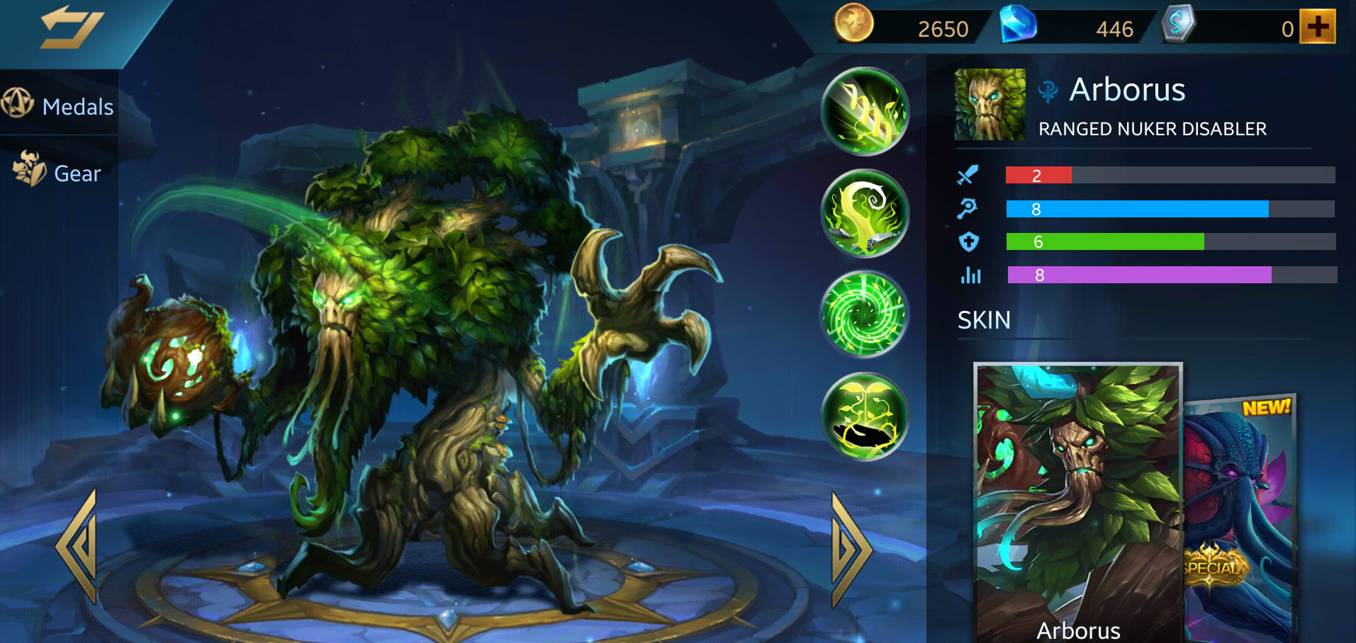 Photo of Heroes Evolved Arborus Build Guide
