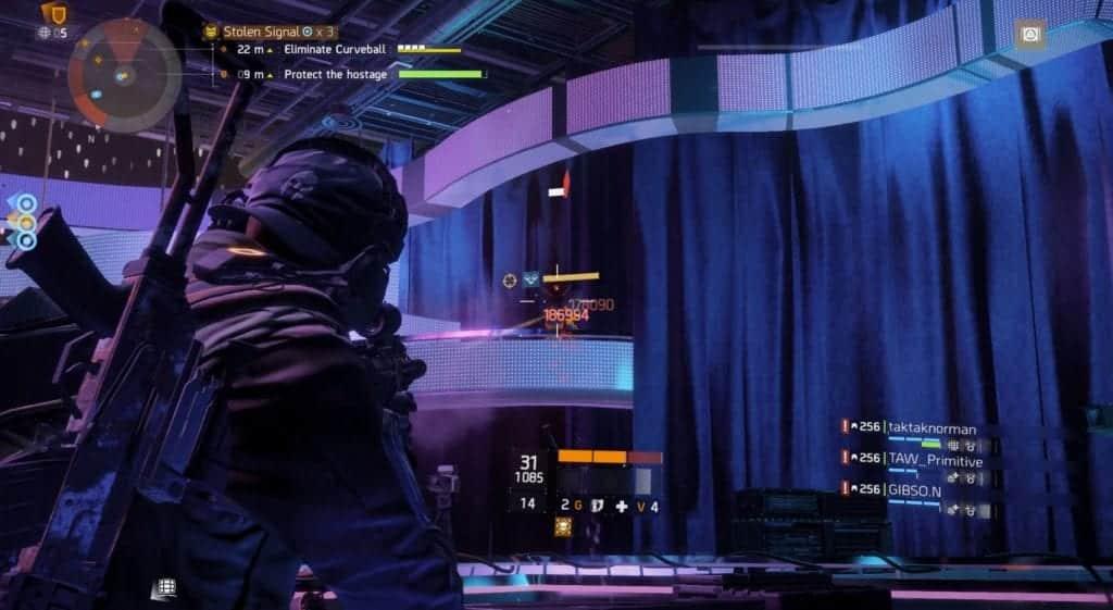 Stolen Signal Curveball boss, Killing the Snipers