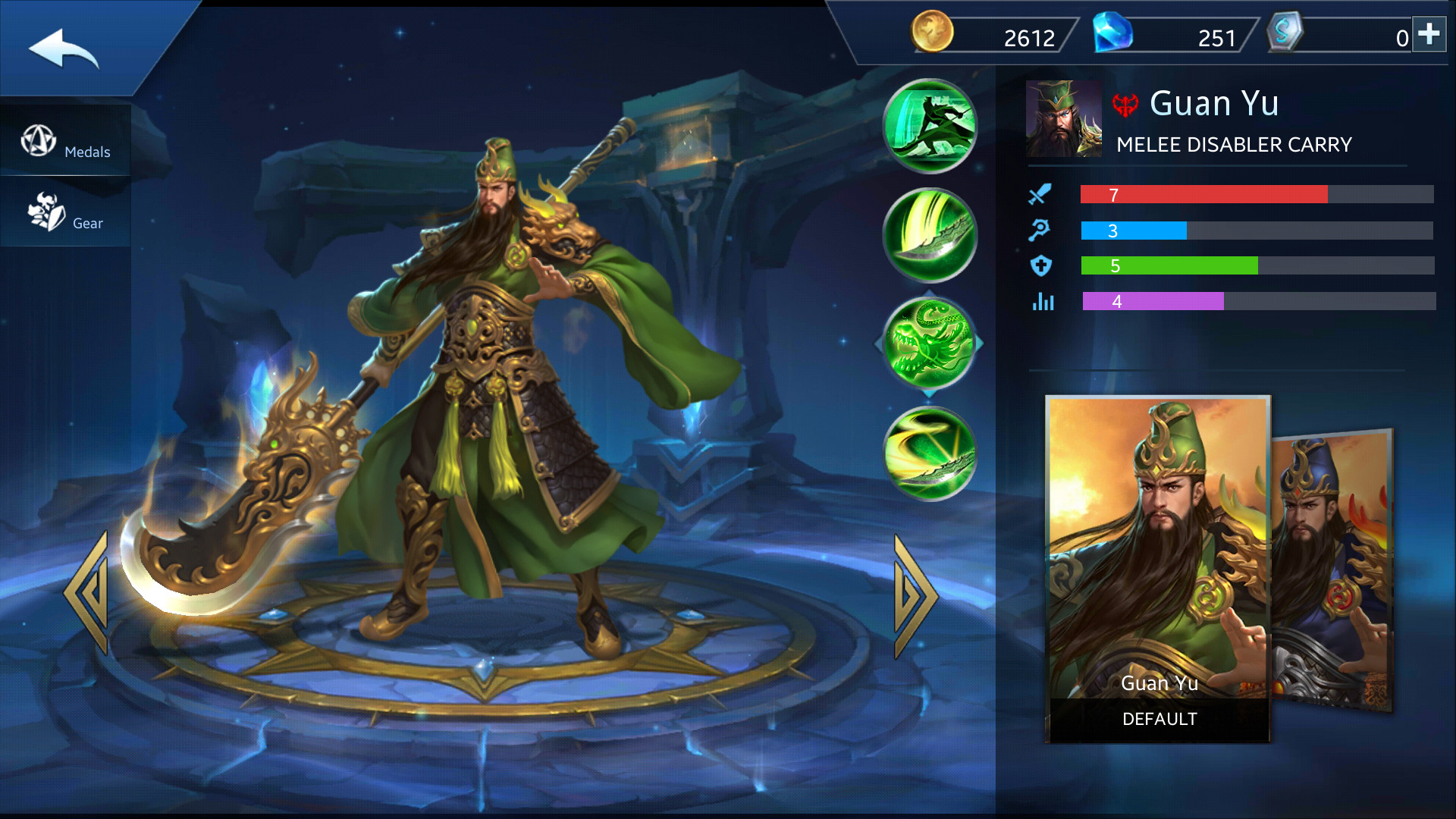 Photo of Guan Yu Build Guide In Heroes Evolved Mobile Game