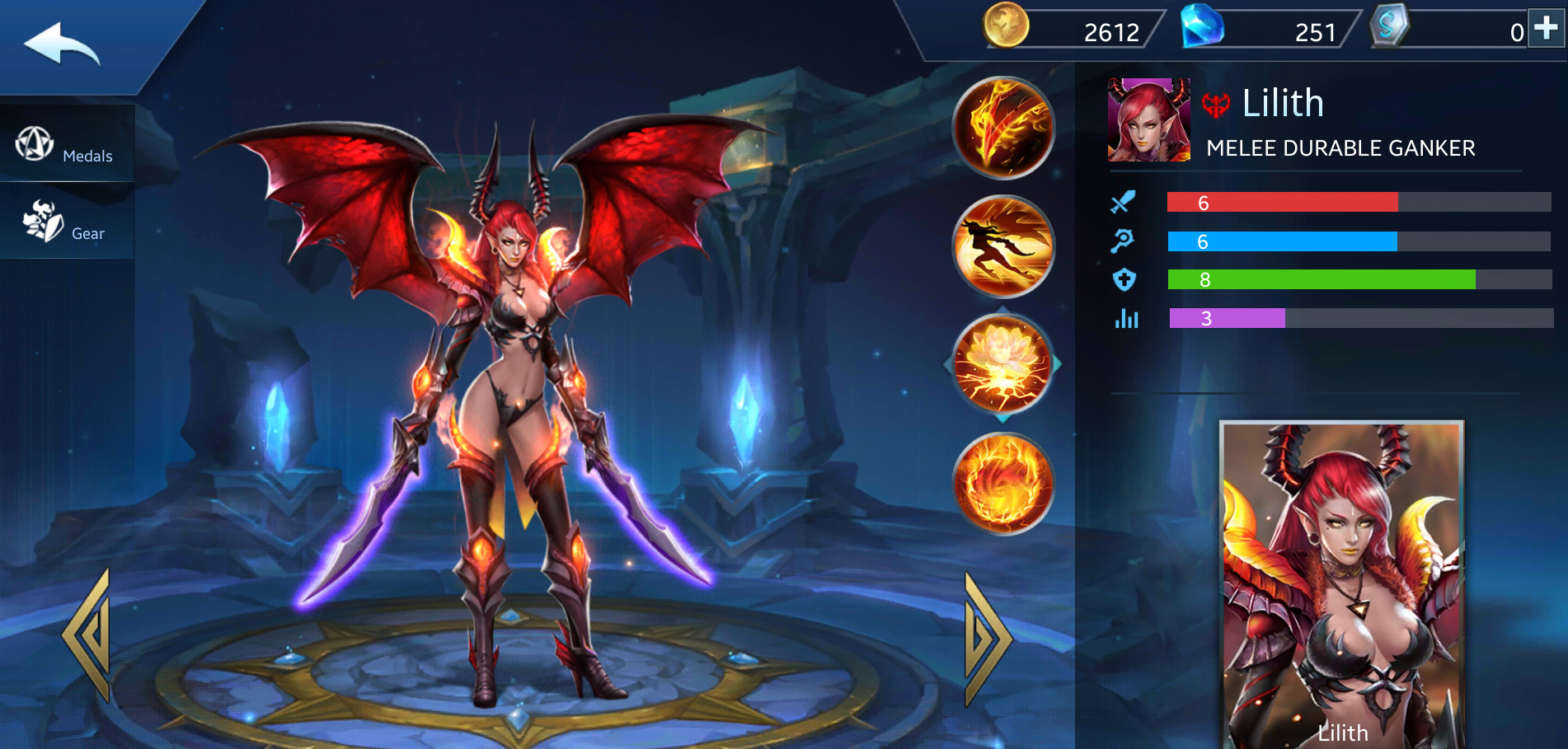 Photo of Lilith Build Guide In Heroes Evolved Mobile Game