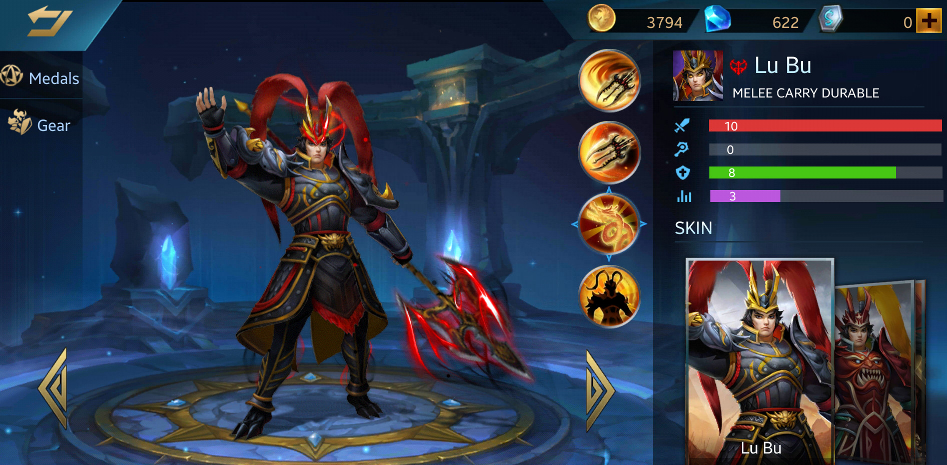 Photo of Heroes Evolved Lu Bu Build Guide