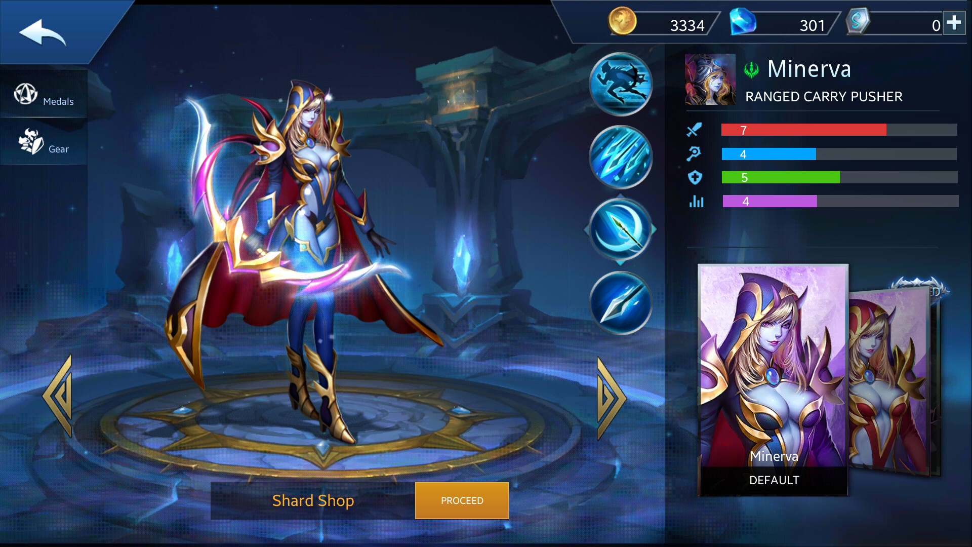 Photo of Minerva Build Guide In Heroes Evolved Mobile Game