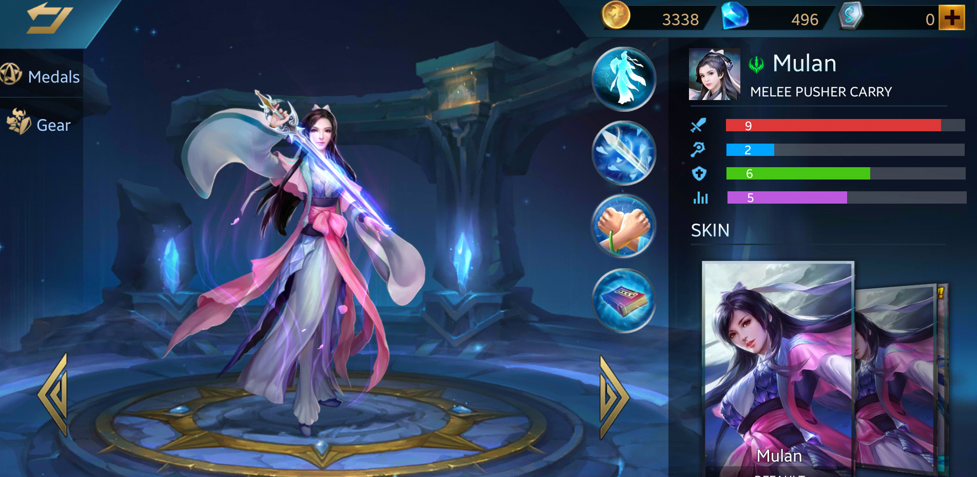 Photo of Heroes Evolved Mulan Build Guide