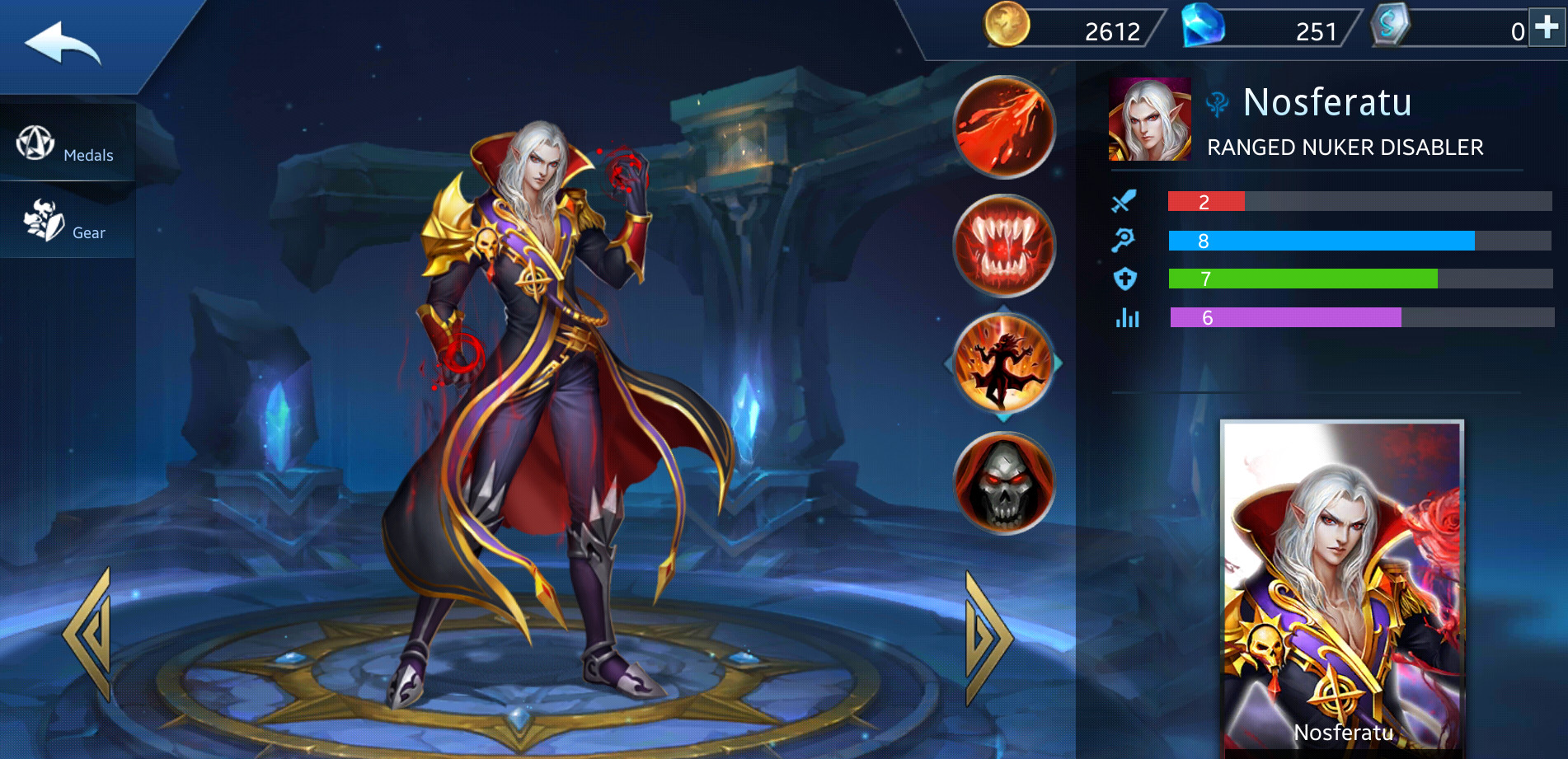 Photo of Nosferatu Build Guide In Heroes Evolved Mobile Game