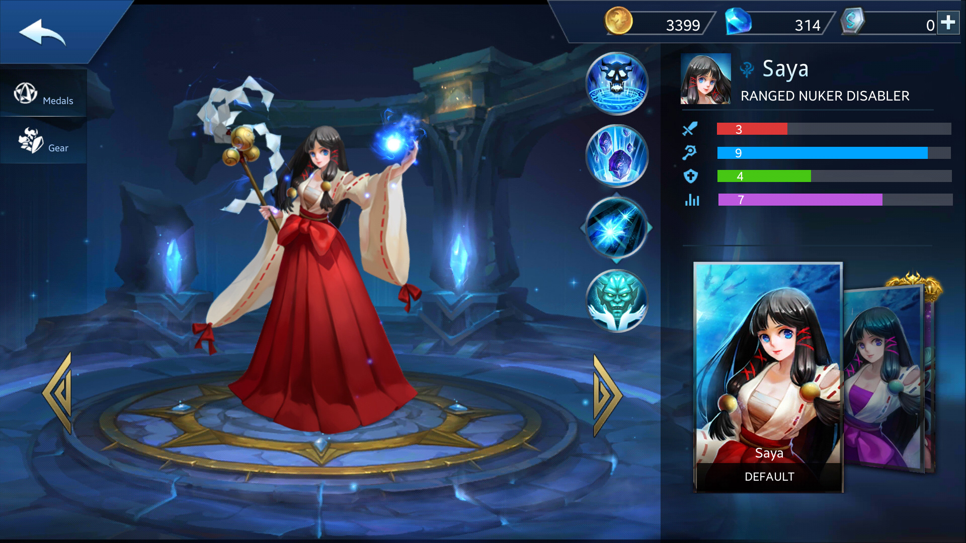 Photo of Saya Build Guide In Heroes Evolved Mobile Game