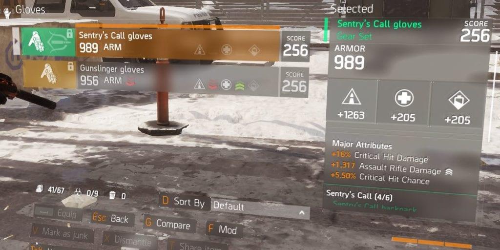 Sentry's Call Gloves