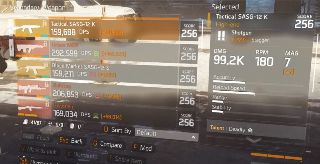 Sentry's Call build with a Tactical SAS-G 12
