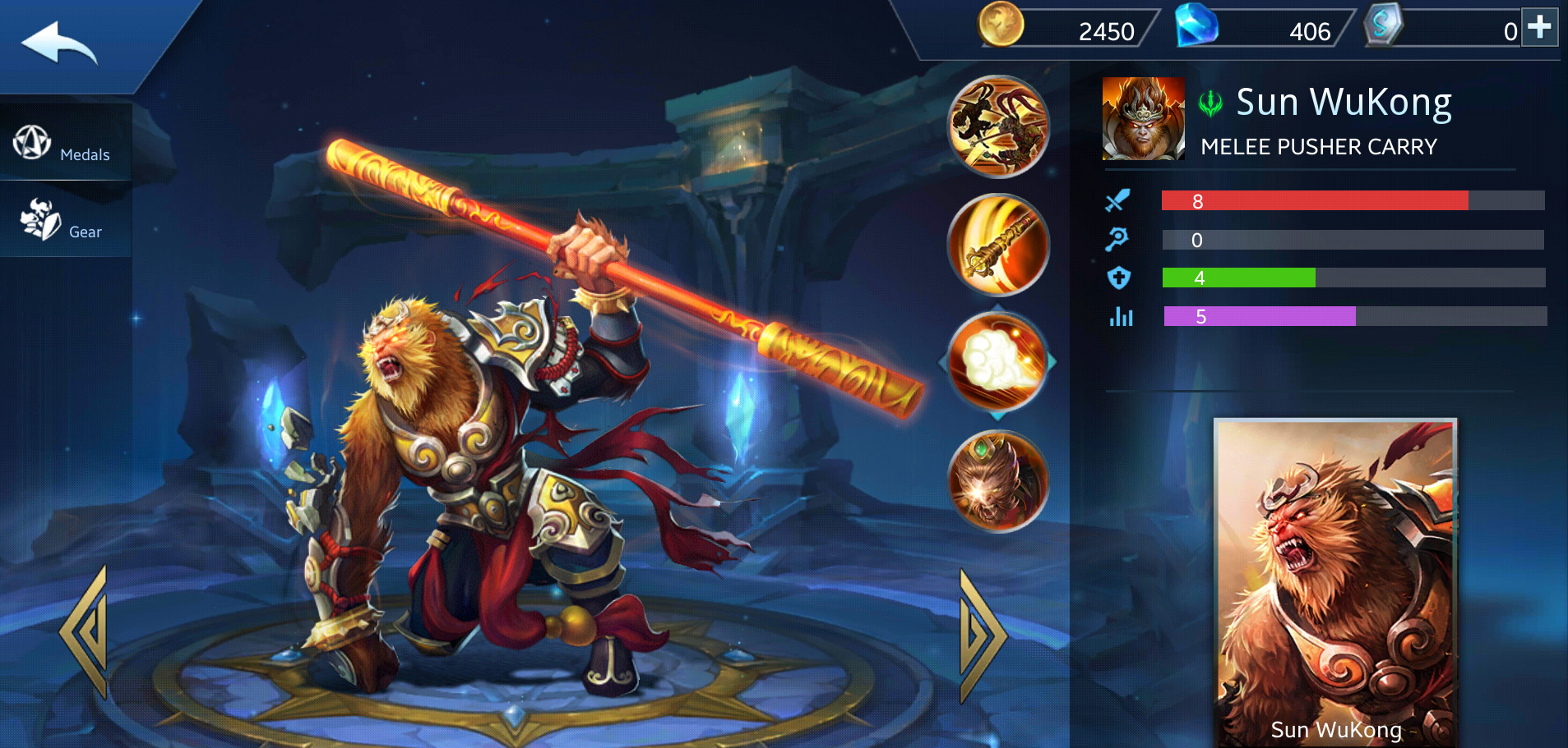 Photo of Heroes Evolved Sun WuKong Build Guide