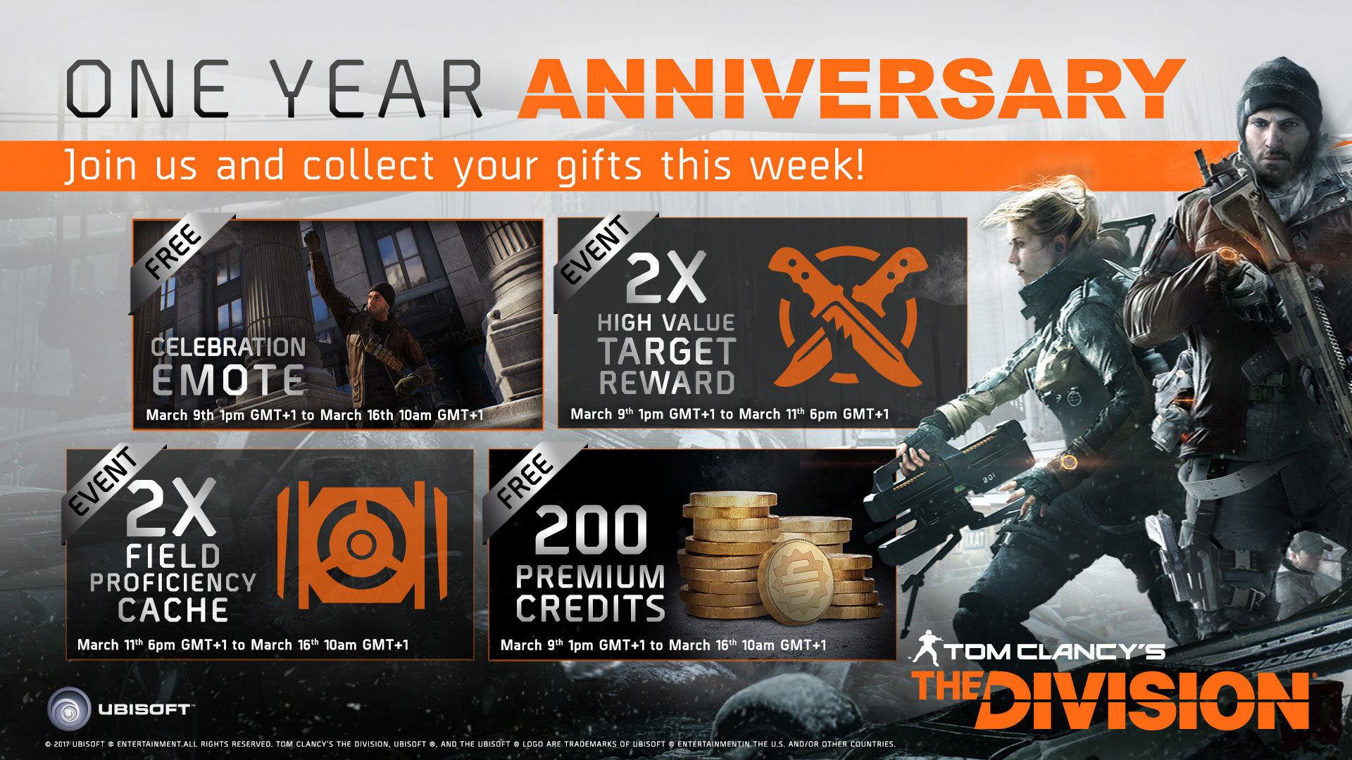Photo of The Division Anniversary: Players Will Receive Premium Credits and New Content For Free