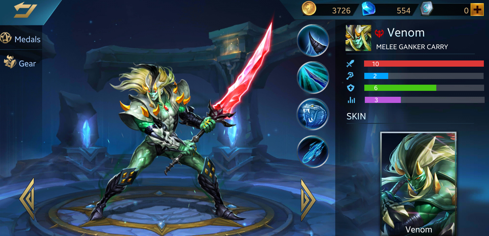 Photo of Heroes Evolved Venom Build Guide