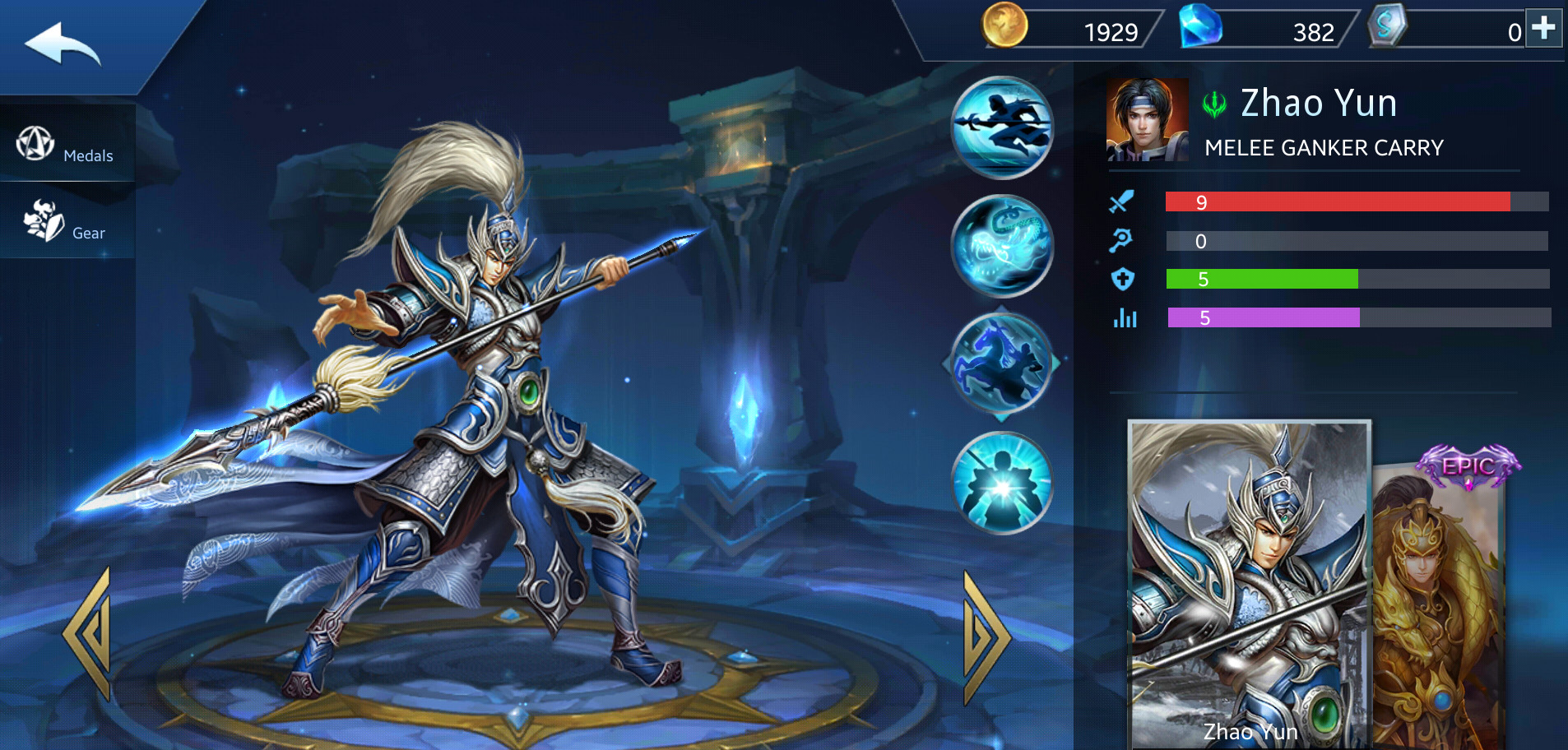 Photo of Zhao Yun Build Guide In Heroes Evolved Mobile Game