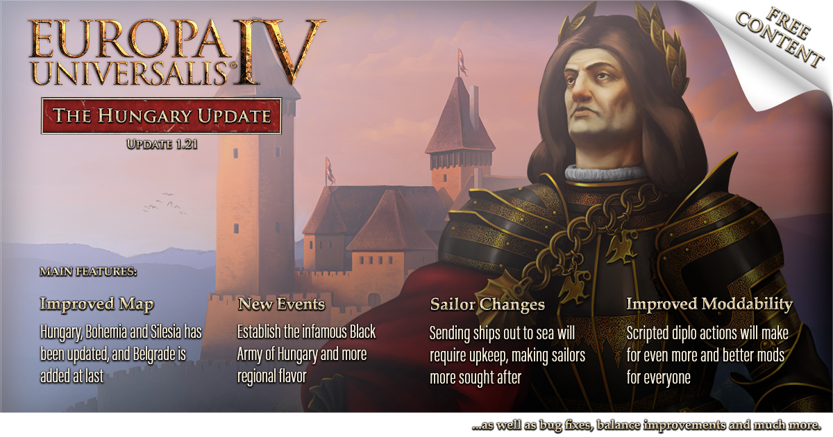 Photo of Europa Universalis IV Hotfix 1.21.1