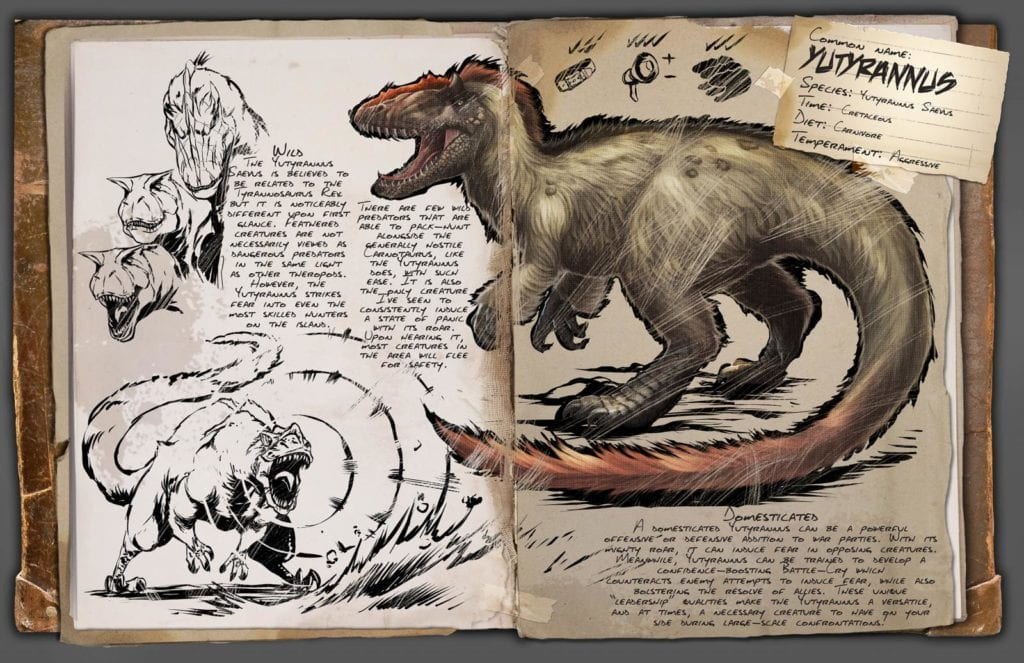 ARK: Yutyrannus is Revealed