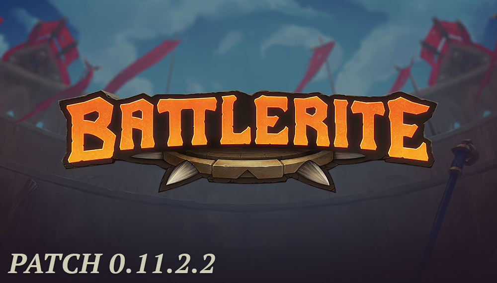 Battlerite patch 0.11.2.2