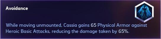 Cassia Avoidance Heroic