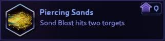 Piercing Sands