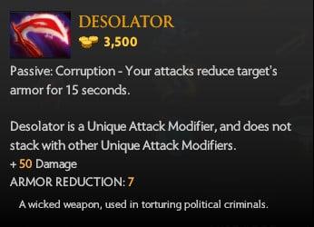 Dota 2 Desolator