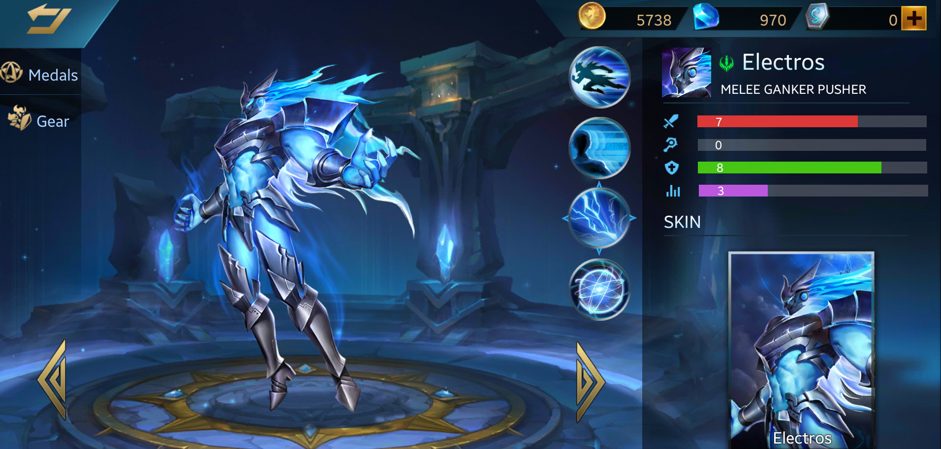 Photo of Heroes Evolved Electros Build Guide