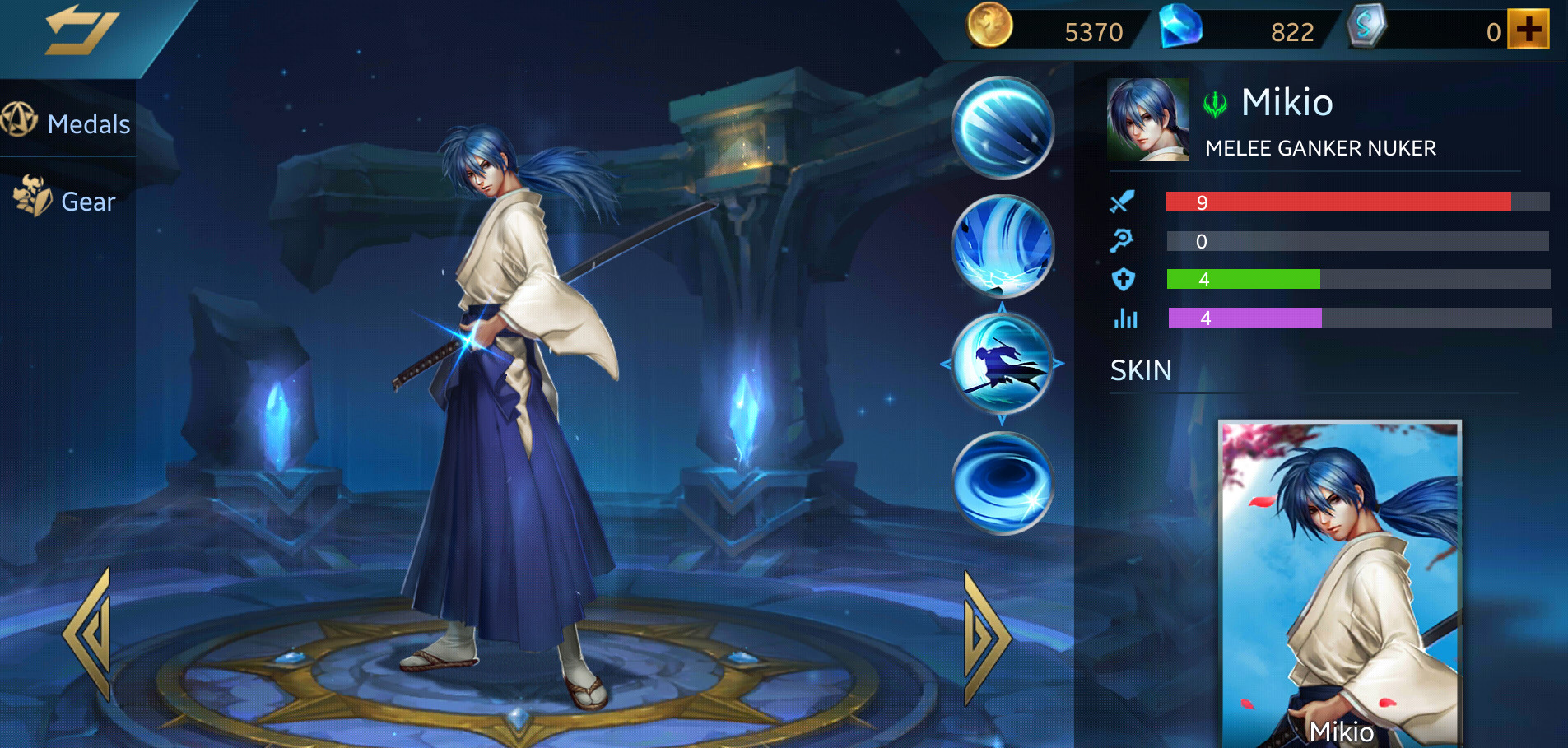 Photo of Heroes Evolved Mikio Build Guide