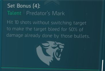 Predator Mark Bonus