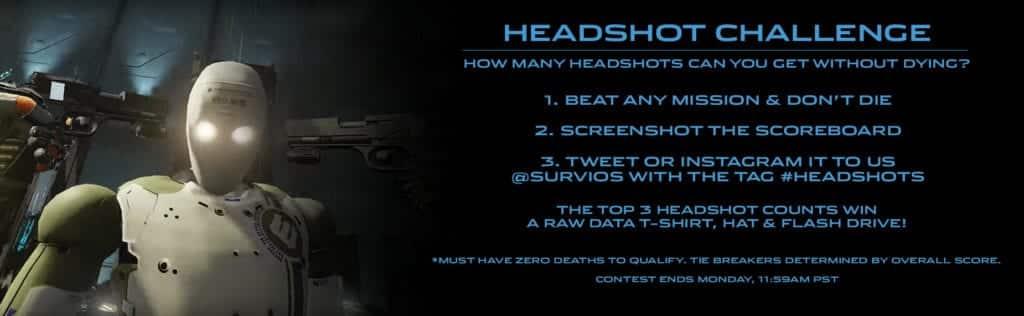 raw data headshot challenge