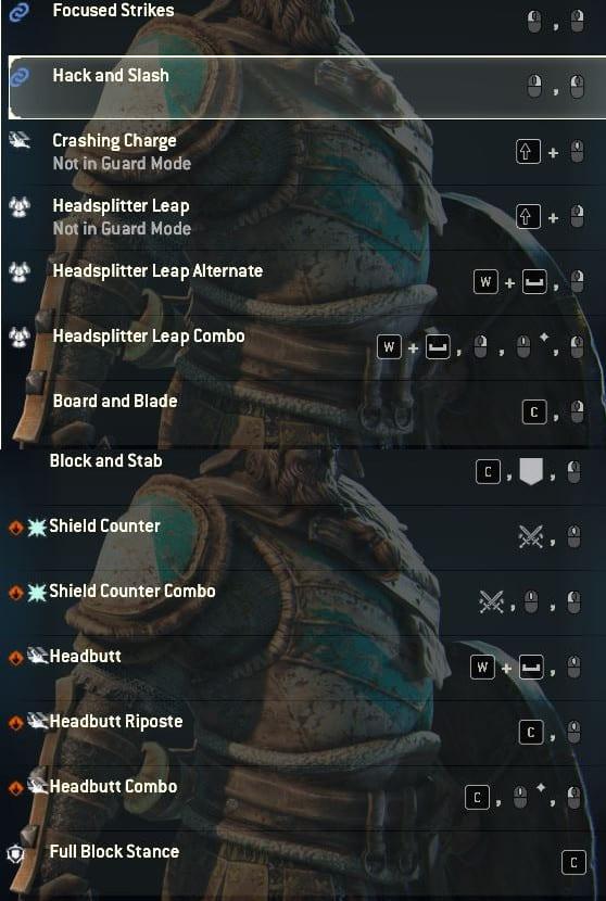 warlord moveset