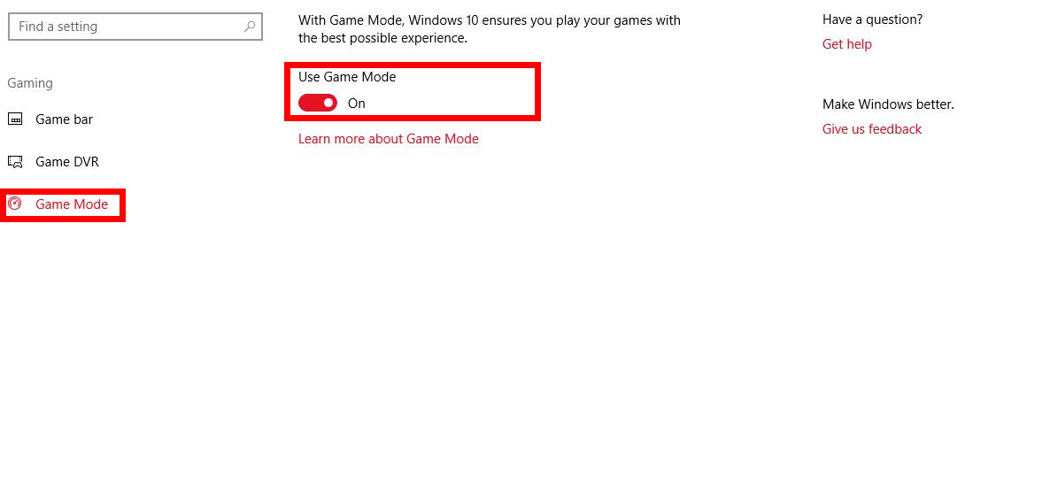 Windows 10 game mode feature is coming soon fgr windows 10 game mode ccuart Image collections