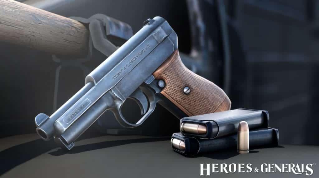 heroes generals new pistols