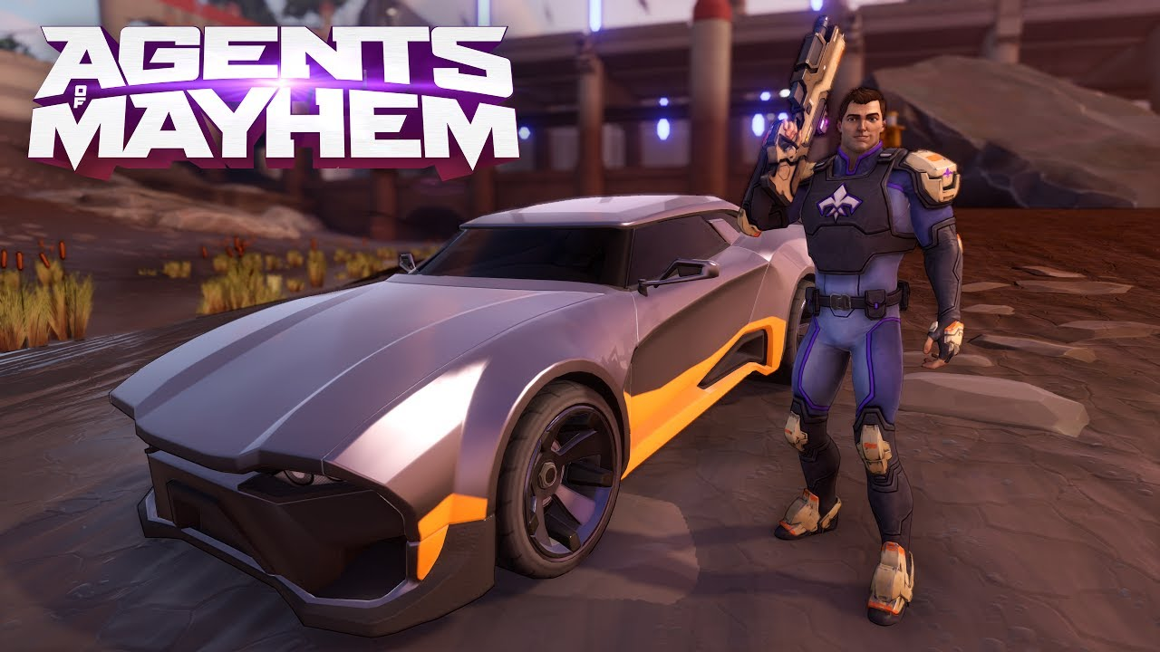 Photo of Agents of Mayhem New Trailer looks HARDER, FASTER, Including a Talking Car… Wait, What?