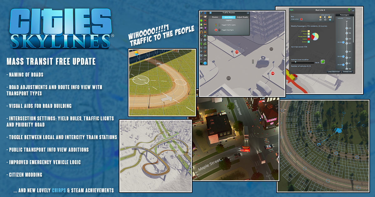Photo of Cities: Skylines Gets Mass Transit Patch for Free