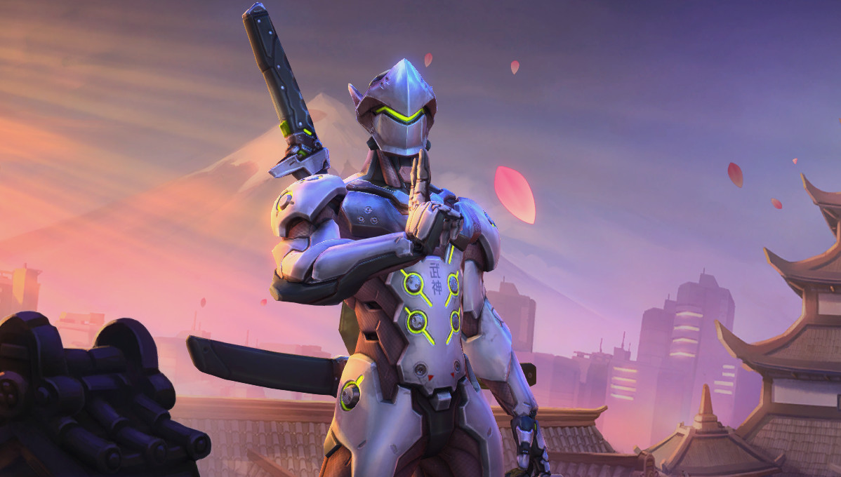 Genji from Heroes of the Storm