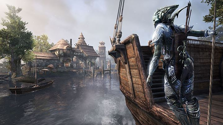 the elder scrolls online: morrowind gameplay