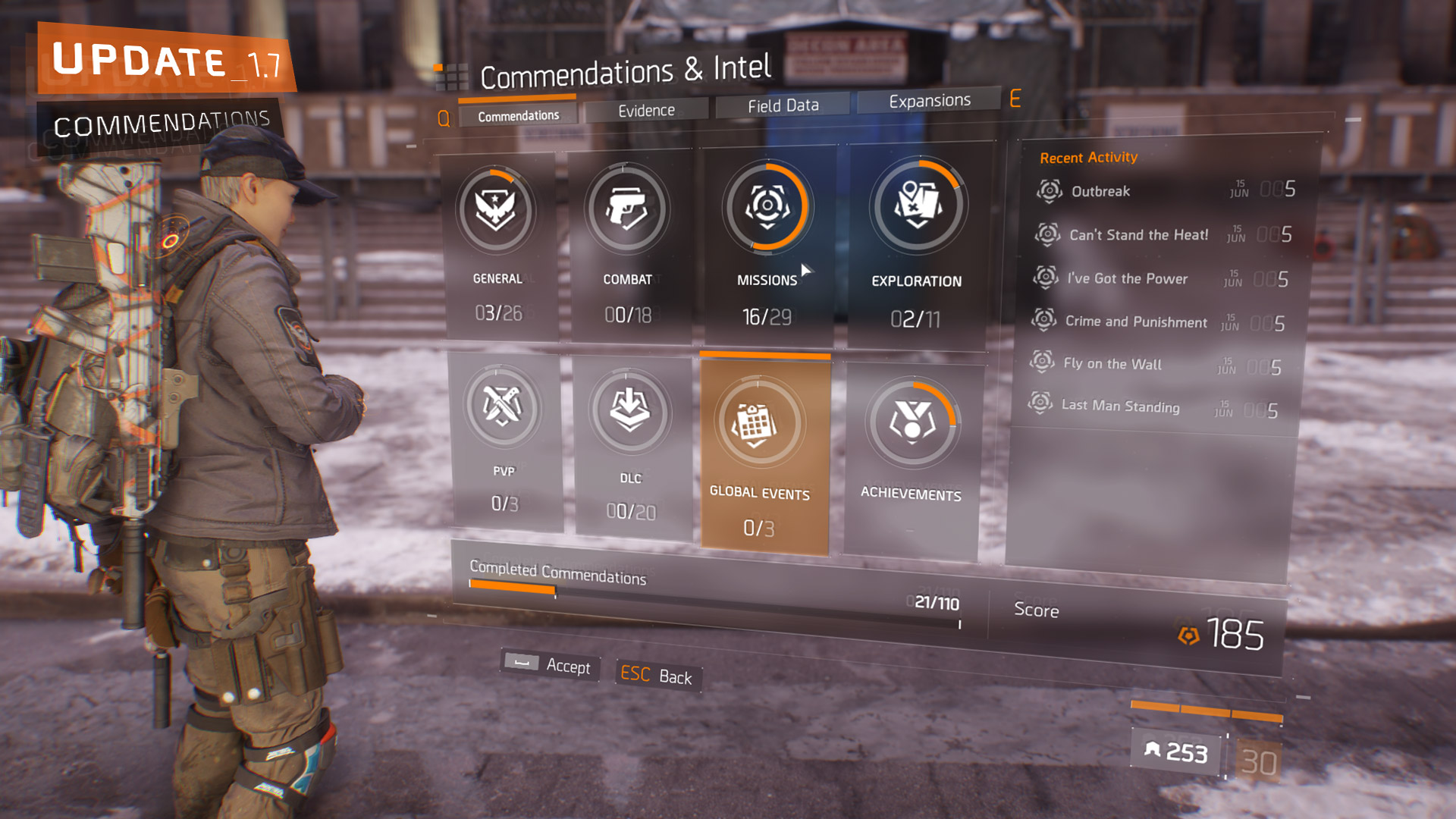 Photo of The Division Will Receive a New Built In Achievement System, Commendations