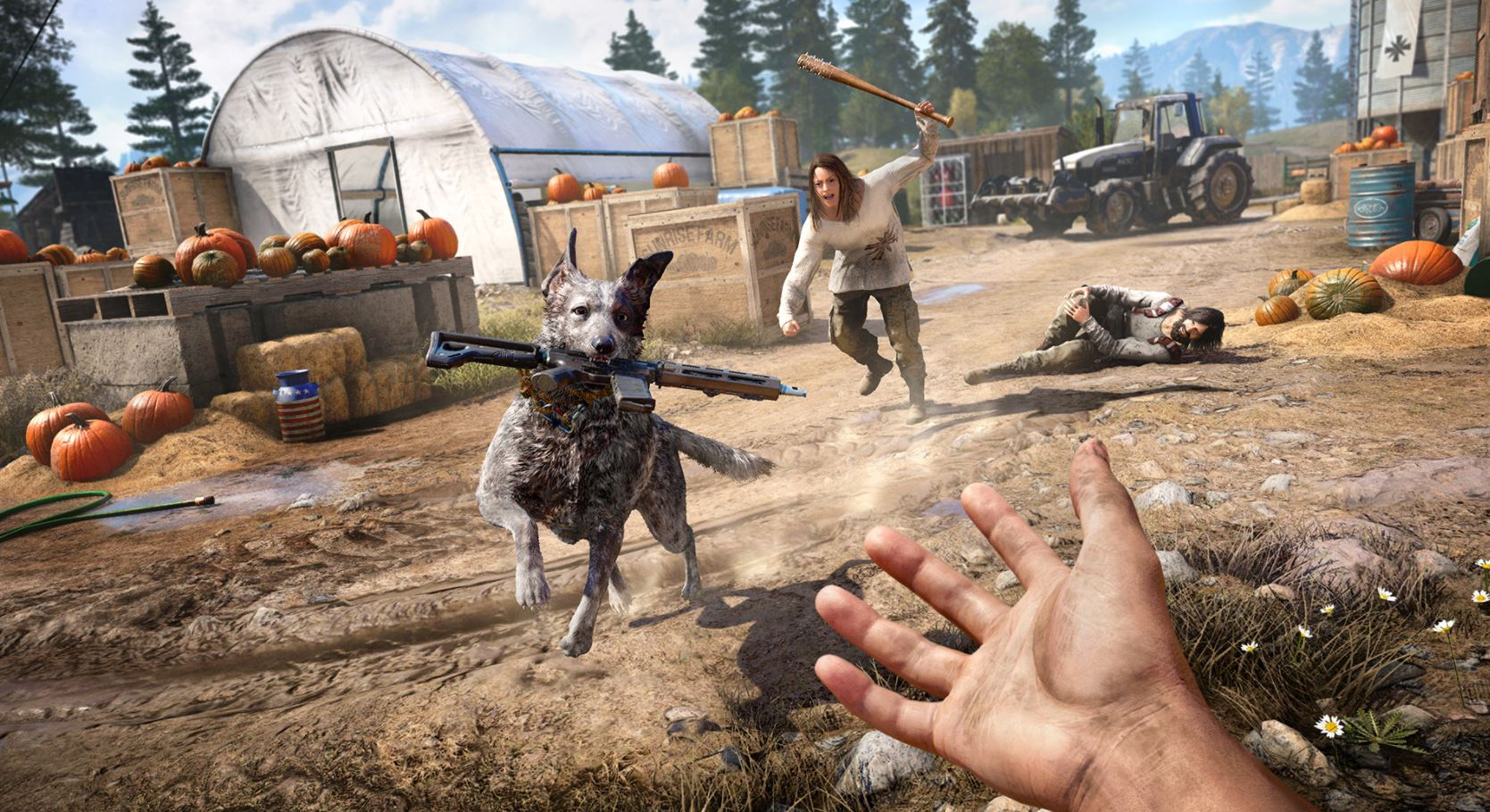 Photo of Far Cry 5 Pre-Launch Gameplay Live Stream Showcases the whole Arsenal, Weapon Skins, Wildlife