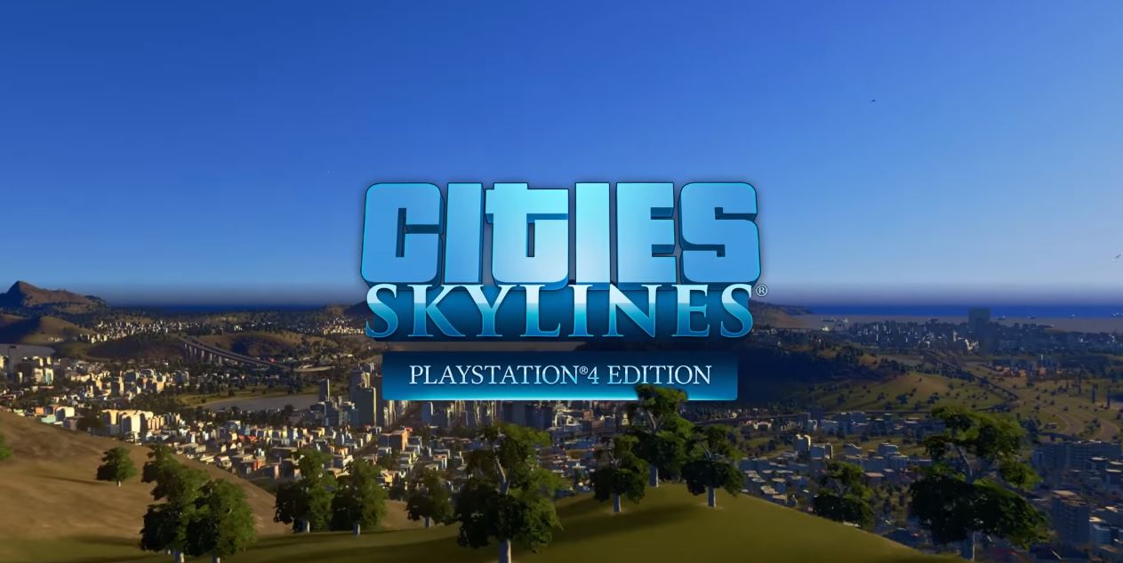 cities skyline ps4