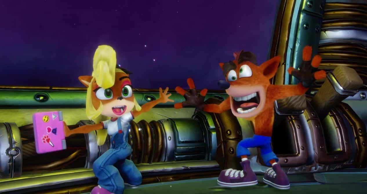 Play As Crash Bandicoot's Sister Coco In Crash N  Sane Trilogy