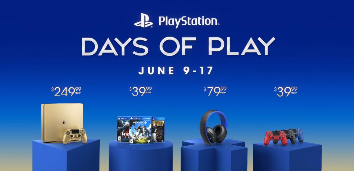 Photo of PlayStation Days Of Play Campaign With Discounts On Hardware, Exclusive PS4 Games And The New Slim Gold PS4 System