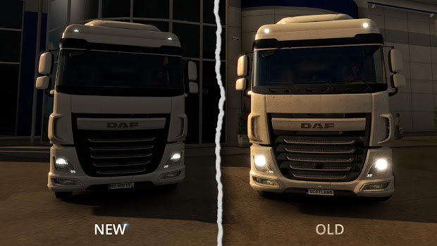 Photo of Euro Truck Simulator 2 Gets Better Light Flares for Vehicles